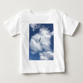 Birds in Clouds Baby T-Shirt