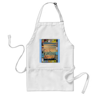 Birds in the bushes 3 standard apron