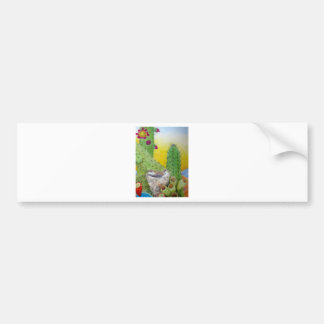 Birds in the desert bumper sticker