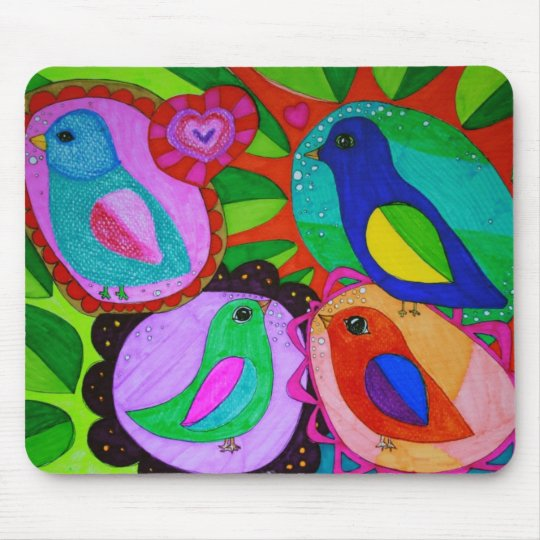 birds-just-wanna-be-free... mouse pad