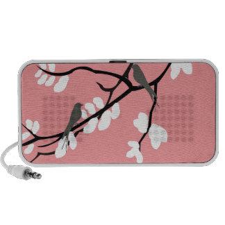 Birds_leaves_tree_design Travel Speaker
