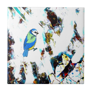 Birds Life by RT Mop Tile