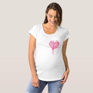 Birds Love Maternity T-Shirt