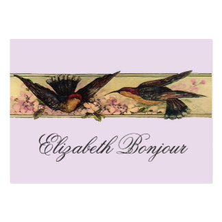 Birds Meeting ~ Business Cards