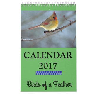 Birds of a Feather 2017 Calendar