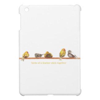 Birds of a Feather iPad Mini Cover