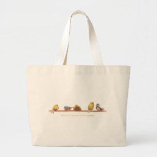 Birds of a Feather Large Tote Bag