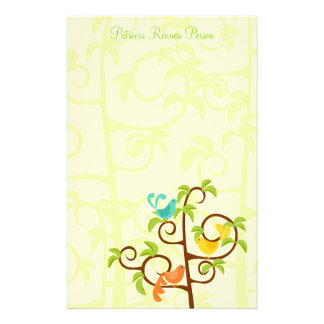 Birds of a Tree Stationery