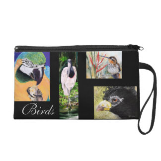 Birds of Brazil Wristlet