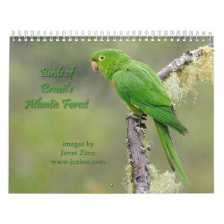 Birds of Brazil's Atlantic Forest Calendar