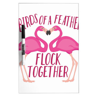 Birds Of Feather Dry-Erase Whiteboards