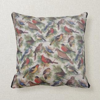 Birds of New York pillow