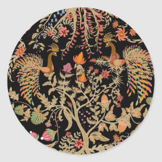 Birds of Paradise Classic Round Sticker