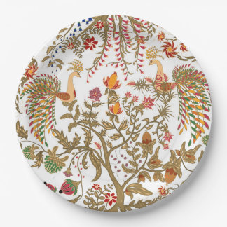Birds of Paradise Paper Plate