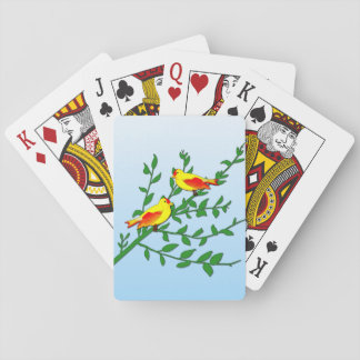 Birds of Peace Playing Cards