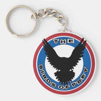 birds-of-prey basic round button keychain