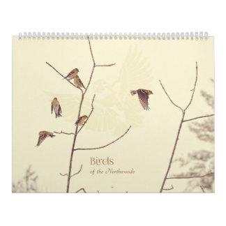 Birds of the Northwoods Calendar