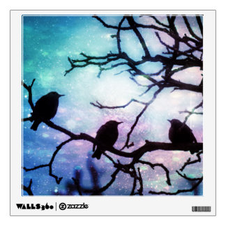 Birds on a Branch - Starlight Wall Decal