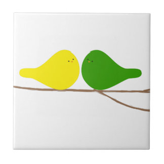 Birds on a Branch Tile