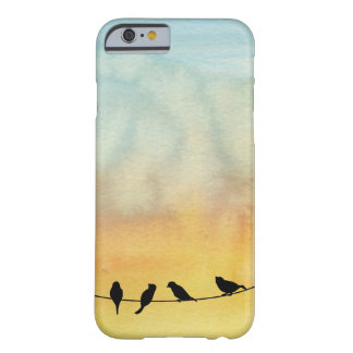 Birds on a wire barely there iPhone 6 case