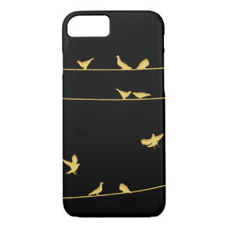 Birds on Wires iPhone 8/7 Case