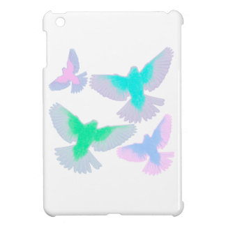 Birds Pastel Cover For The iPad Mini