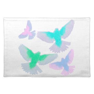 Birds Pastel Placemat