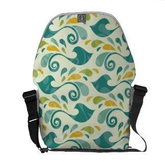 Birds pattern commuter bags