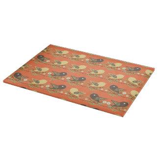 Birds pattern cutting board