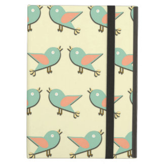Birds pattern iPad air cover