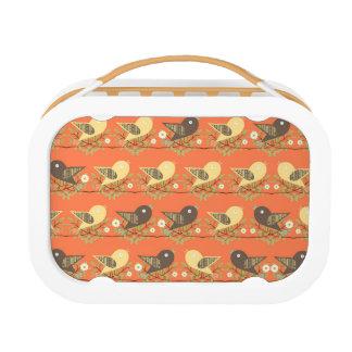 Birds pattern lunch box
