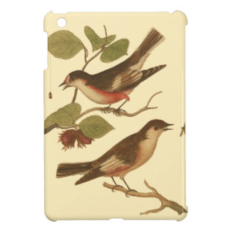 Birds Perched on Branches Eating Insects iPad Mini Covers