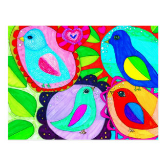 Birds say they Want Freedom! Postcard