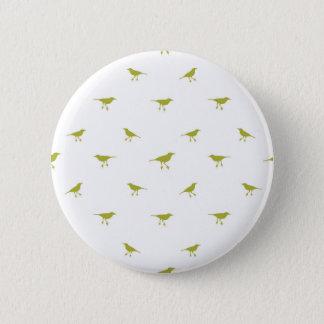 Birds Silhouette Print 2 Inch Round Button