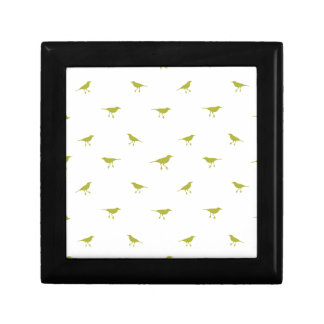 Birds Silhouette Print Gift Box