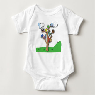 Birds that Flock Together Baby Once Baby Bodysuit