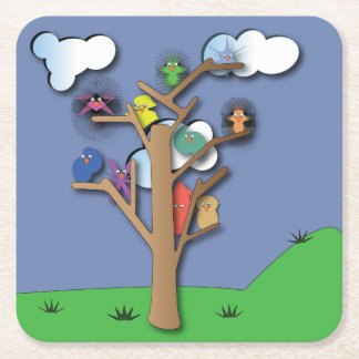 Birds that Flock Together Coaster