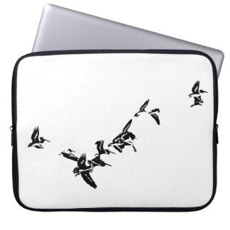 Birds Wildlife Animals Wetlands Photography Laptop Sleeve