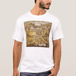 Birdseye View of Central Park - John Bachman T-Shirt