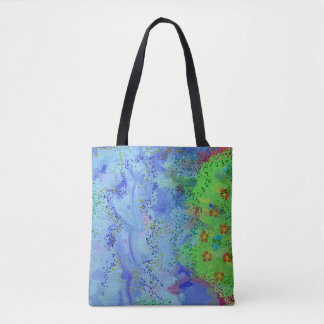 Birdsong 1 All-Over-Print Tote Bag Medium