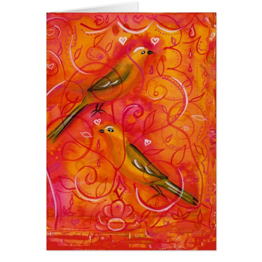 Birdsong Card