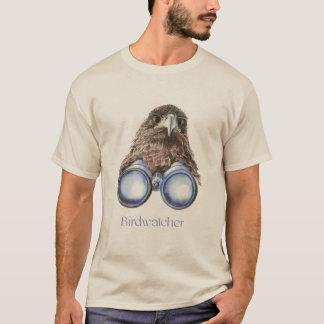 Birdwatcher Hawk Bird Watching You Humor T-Shirt