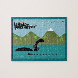 Birdwatcher Lonely Monster Jigsaw Puzzle