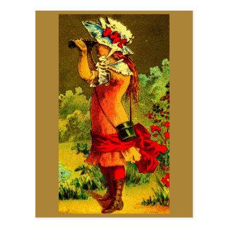 Birdwatcher Postcard