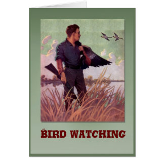 Birdwatching Card