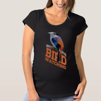 Birdwatching Maternity T-Shirt