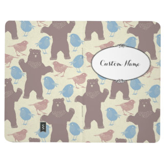 Birdy Bear Bullet Journal with Personalized Name