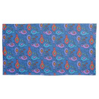 Birdy geometric nature stylish pattern pillowcase