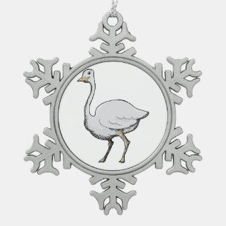 Birdy Snowflake Ornament