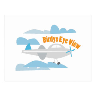 Birdys Eye View Postcards